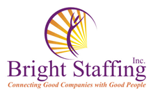 Bright Staffing Logo